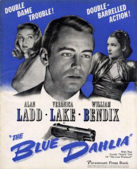 BLUE DAHLIA, THE (1946) Pressbook