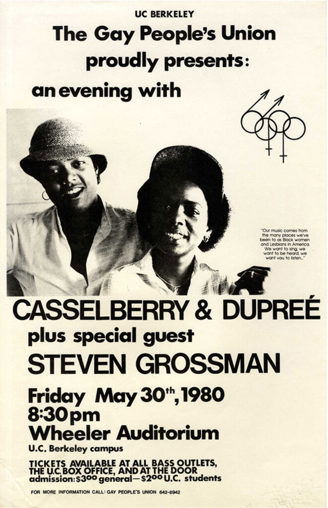Casselberry & Dupree Poster