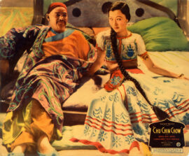 CHU CHIN CHOW (1934) Jumbo lobby card
