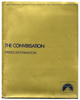 CONVERSATION, THE (1974) Press kit