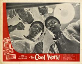 COOL WORLD, THE (1963) Lobby card