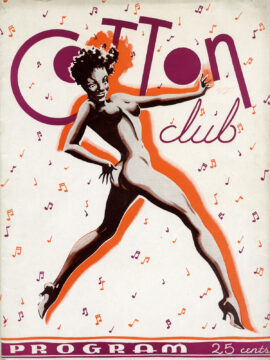 COTTON CLUB, THE (ca. 1939) Program