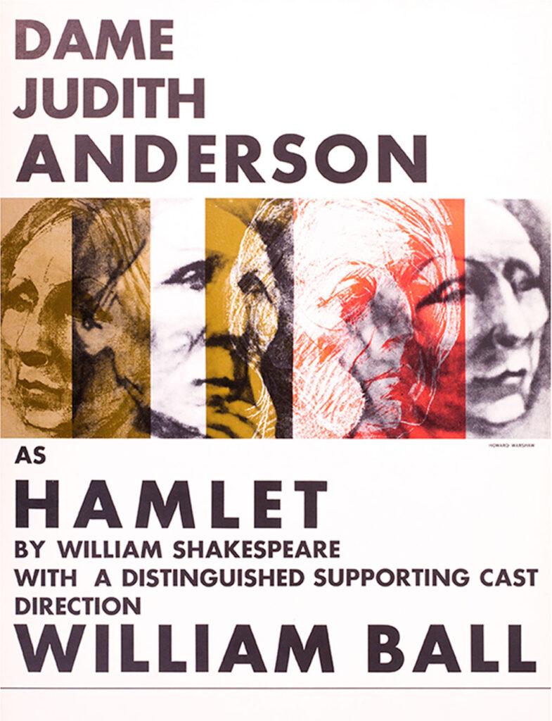 Dame Judith Anderson as Hamlet