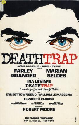 DEATHTRAP (1981) Theatre poster