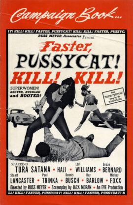 FASTER, PUSSYCAT! KILL! KILL! (1965) Pressbook