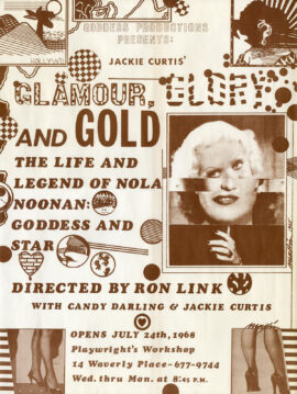 GLAMOUR, GLORY AND GOLD: THE LIFE & LEGEND OF NOLA NOONAN, GODDESS & STAR (1968)