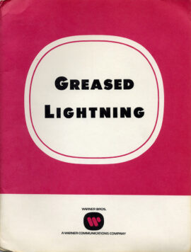 GREASED LIGHTNING (1977) Press kit