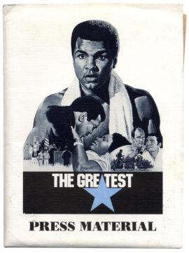 GREATEST, THE (1977) Press kit