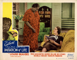 IMITATION OF LIFE (1935; 1949 reissue) Lobby card no. 5