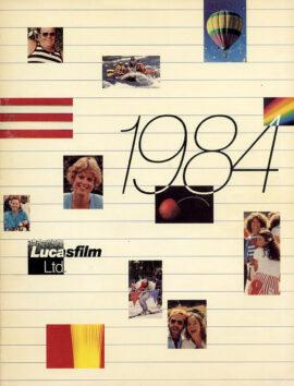 LUCASFILM LTD 1984 Studio yearbookLUCASFILM LTD 1984 Studio yearbook