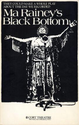 August Wilson's MA RAINEY'S BLACK BOTTOM (black)