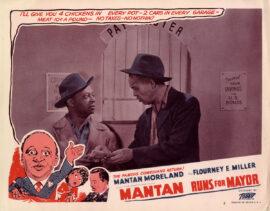 MANTAN RUNS FOR MAYOR (1946) Set of 5 lobby cards