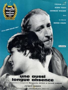 MARGUERITE DURAS (1961-1976) Set of 3 French pressbooks