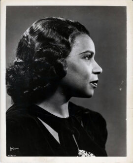 MARIAN ANDERSON (1954)