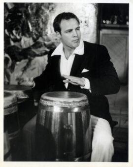MARLON BRANDO (ca. late-1950s) Set of 8 photos