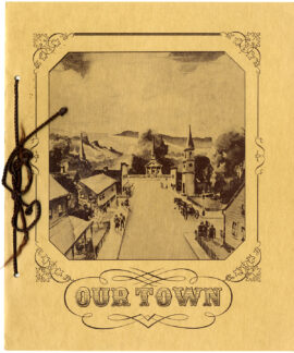 OUR TOWN (1940) Set of 2 programs