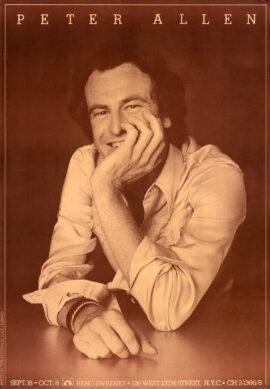 PETER ALLEN LIVE AT RENO SWEENEY (ca. 1975)