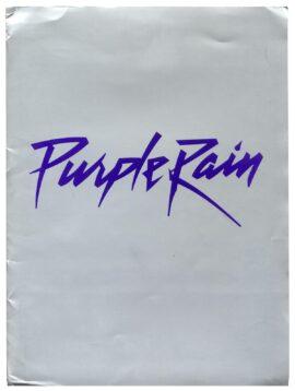 PURPLE RAIN (1984) Press kit
