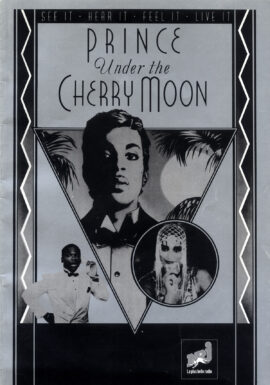 UNDER THE CHERRY MOON (1986) French promotional book