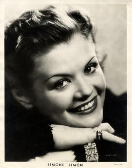 SIMONE SIMON (ca. 1936-38)