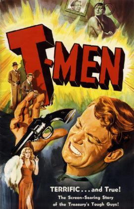 T-MEN (1947) Pressbook