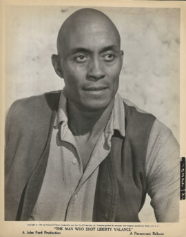 WOODY STRODE / THE MAN WHO SHOT LIBERTY VALANCE (1962)