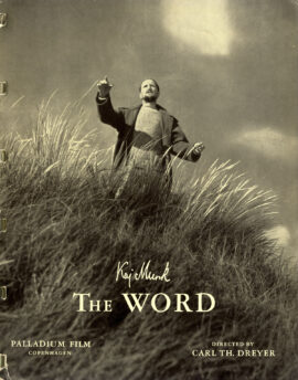 WORD, THE [ORDET] (1955) Danish promotional book