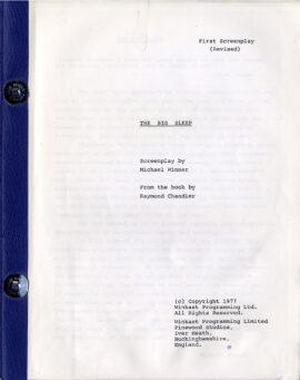 BIG SLEEP, THE (1977) Rev First screenplay by Michael Winner