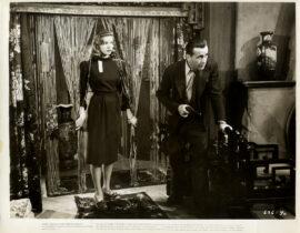 BIG SLEEP, THE (1946) Keybook photo ft Humphrey Bogart, Lauren Bacall