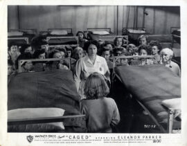 CAGED (1950) Set of 3 photos