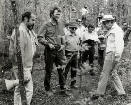 CLINT EASTWOOD, DON SIEGEL / THE BEGUILED (1971) BTS photo