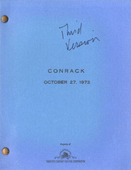 CONRACK (1972-73) Set of 3 variant screenplays by Irving Ratchetch, Harriet Frank, Jr