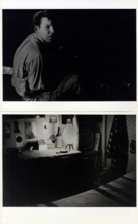 DAVID BROOKS (ca. 1967) Set of 2 photos