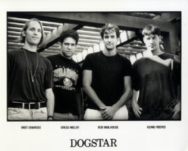 KEANU REEVES / DOGSTAR (ca. 1995) Photo and cassette tape