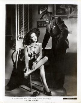 FALLEN ANGEL (1946) Set of 17 photos