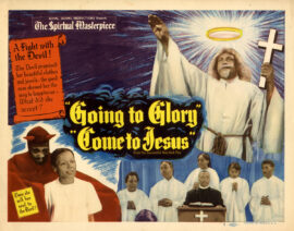 GOING TO GLORY, COME TO JESUS (1947) Set of 8 lobby cards