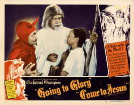 GOING TO GLORY, COME TO JESUS (1947) Lobby card no. 3