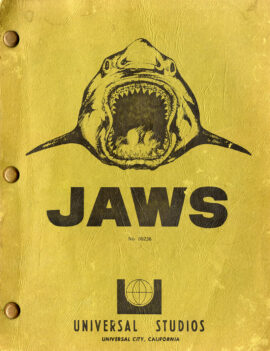 JAWS (Nov 30, 1973) Revised Second Draft screenplay by Peter Benchley