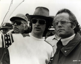 JAWS (1975) Steven Spielberg directing
