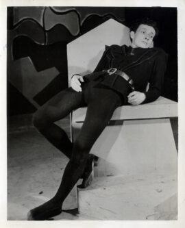 JEAN-LOUIS BARRAULT / HAMLET (1952) Theatre photo