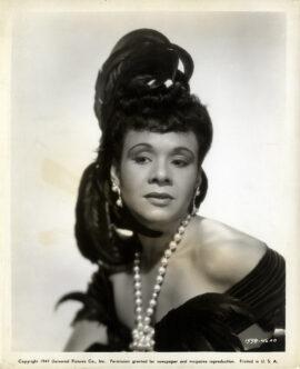 KATHERINE DUNHAM (1947) Portrait