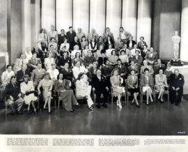 M-G-M'S STUDIO BOSS AND HIS TOP TALENT (1943) Oversize photo
