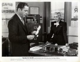 MALTESE FALCON, THE (1941) Photo of Humphrey Bogart, Lee Patrick
