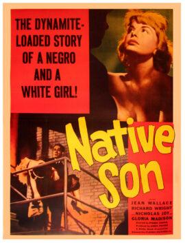 NATIVE SON (1951) 2-sheet poster