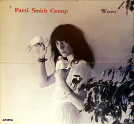 PATTI SMITH GROUP / WAVE (1979) Record store poster ft. Mapplethorpe photography