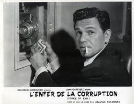 FORCE OF EVIL [L'ENFER DE LA CORRUPTION] (1948) Set of 9 French photos
