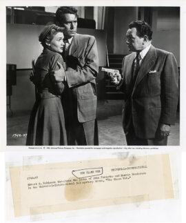 GLASS WEB, THE (1953) Set of 14 photos